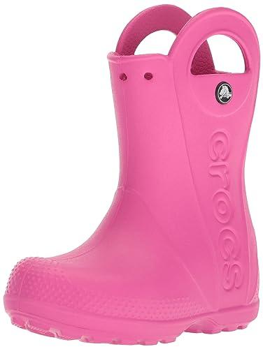 c23d95a2598d9d Crocs Kids  Handle It Rain Boot - 12803 Fuchsia