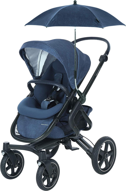 Protection Anti-UV pour B/éb/é Ombrelle B/éb/é Confort pour Poussettes B/éb/é Confort Nomad Black