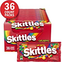 Skittles 36 Count 2.17-Ounce Original Fruity Candy Singles