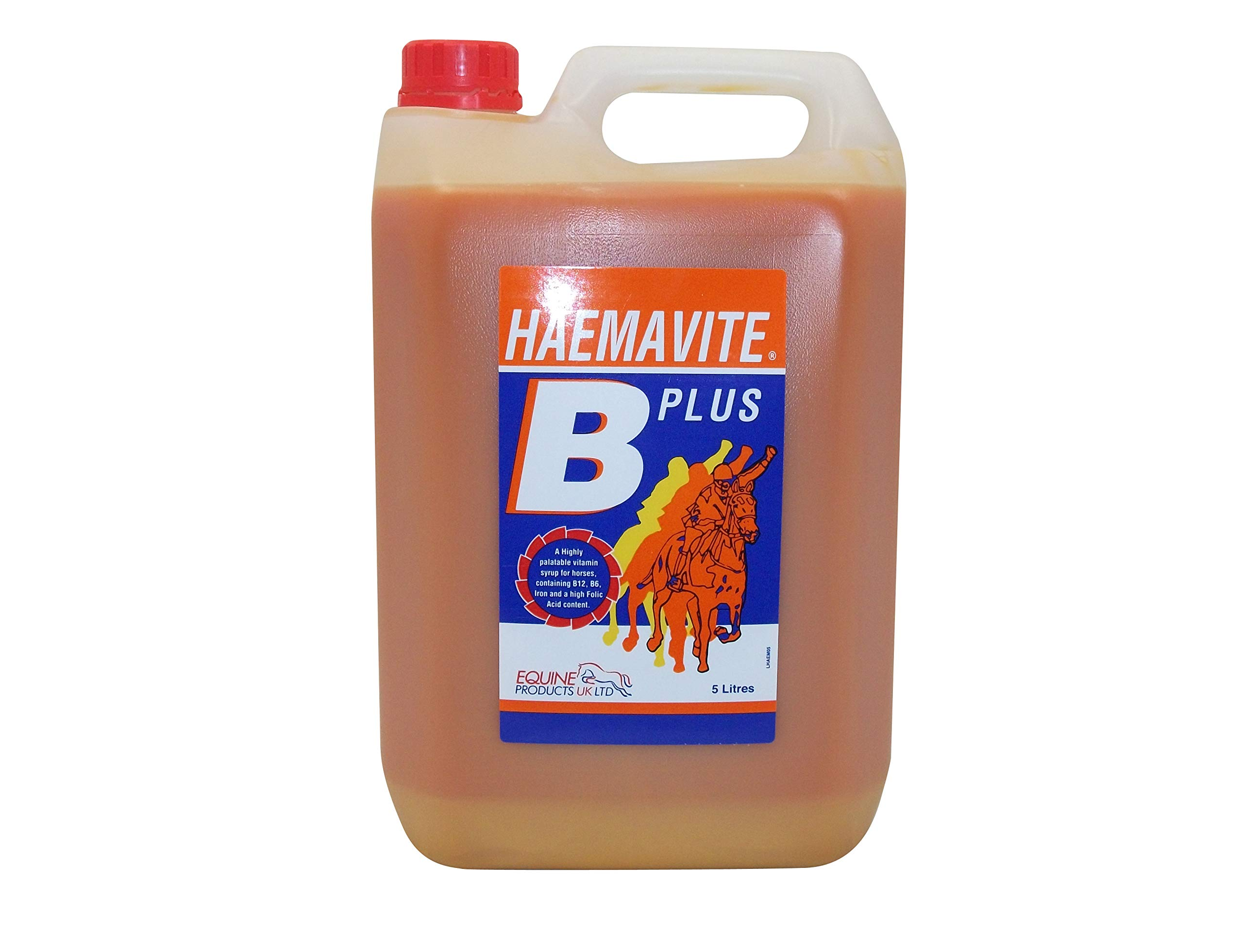 Equine Products Haemavite B Plus Horse Supplement, 5 Litre