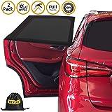 Autofenster Sonnenblende Netz 2 Stück Rollo Displayschutz Visior Abdeckung 62 X