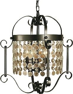 product image for Framburg 2924 MB 5-Light Naomi Dining Chandelier, Mahogany Bronze