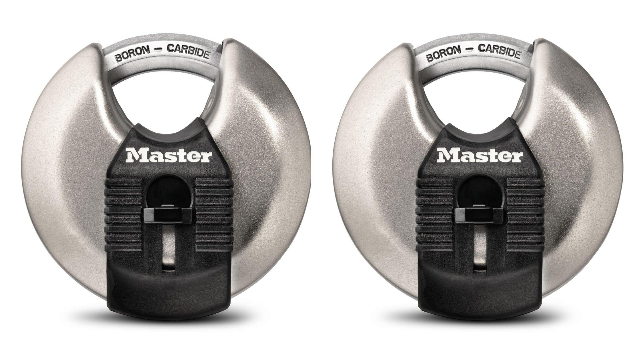 Master Lock M40XTHC 2-3/4'' Magnum Disc Lock (2 Count)