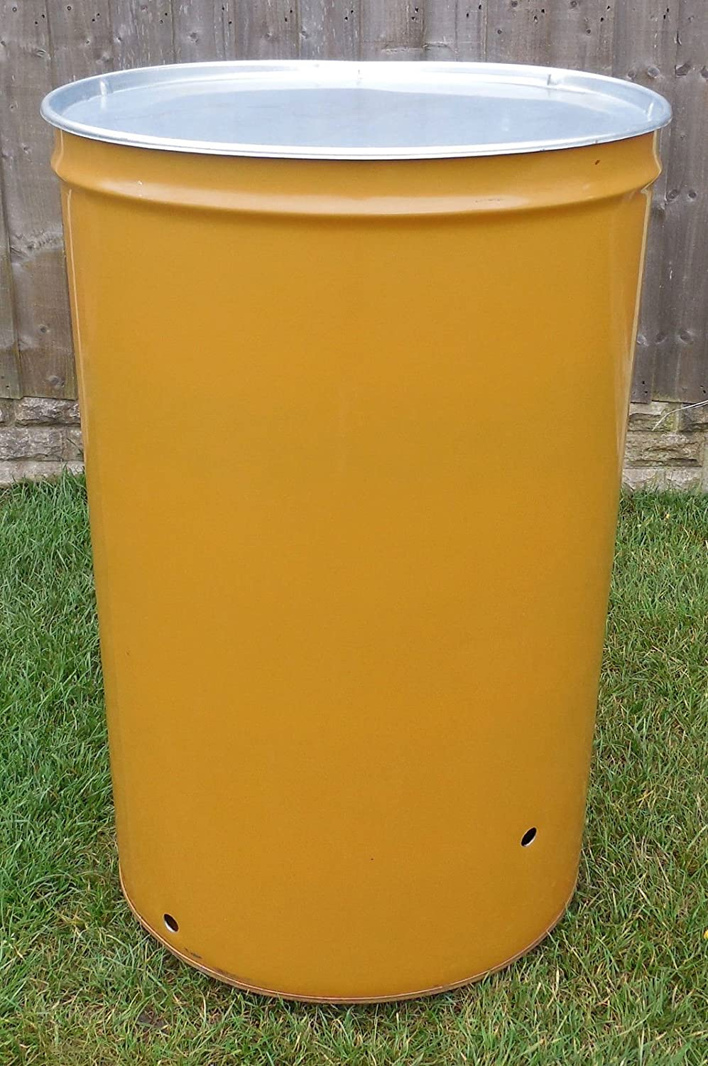 210L BURNER BIN / INCINERATOR BIN WITH LID