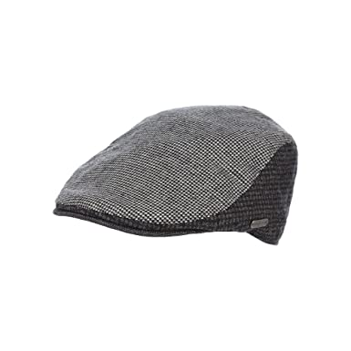 45c124eb0d5b7 J By Jasper Conran Mens Grey Panelled Flat Cap S M  Amazon.co.uk  Clothing