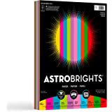 Wausau Astrobrights Writing Paper, 8.5 X 11 Inches, Assorted, 200 Count (20008)