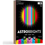 Neenah Astrobrights Writing Paper, 8.5 X 11 Inches, Assorted, 200 Count (20008)