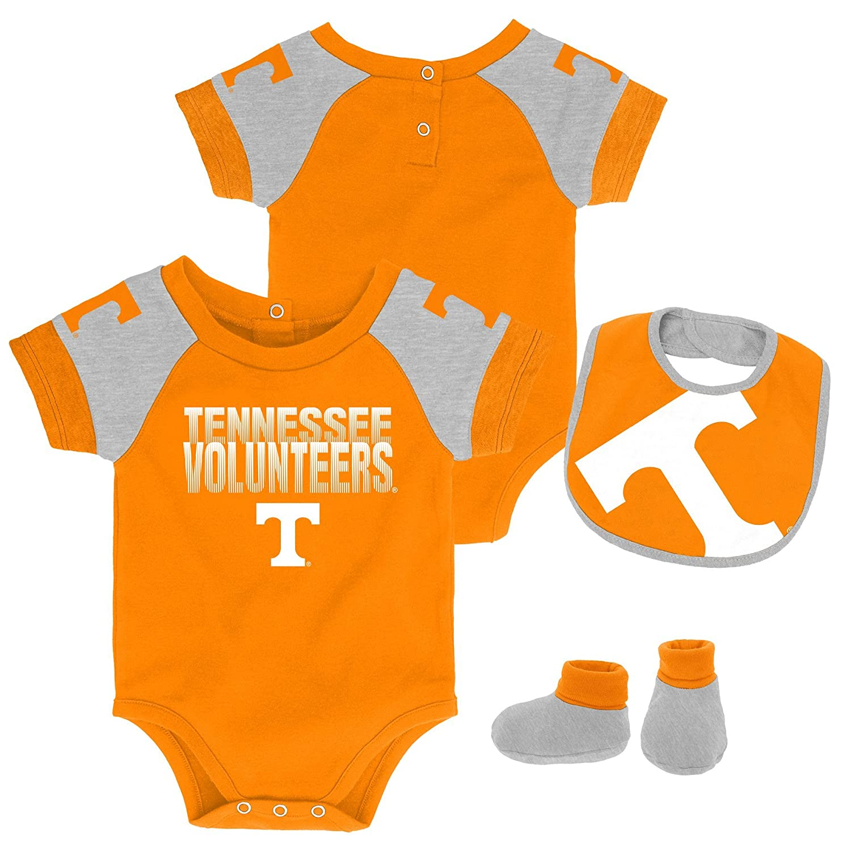 Gen 2 NCAA Tennessee Volunteers Newborn /& Infant 50 Yard Dash Bib /& Bootie Set