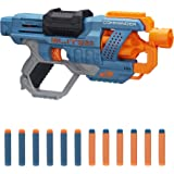 NERF Elite 2.0 Commander RD-6 Blaster, 12 Official Darts, 6-Dart Rotating Drum, Tactical Rails, Barrel and Stock Attachment P