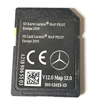 A2189065503 - Tarjeta SD para Mercedes Garmin Map Pilot Star1 v12 Europe 2019