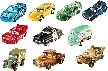 Disney DVT08 Cars 3 - Juego de 10 Vasos de pistón: Amazon.es: Juguetes y juegos