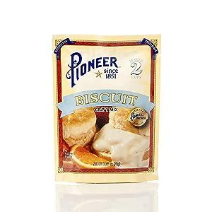 Pioneer Biscuit Gravy Mix 2.75oz - 12 Unit Pack