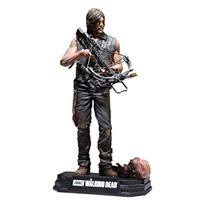 "McFarlane Toys The Walking Dead TV Daryl Dixon 7"" Collectible Action Figure: Toys & Games"
