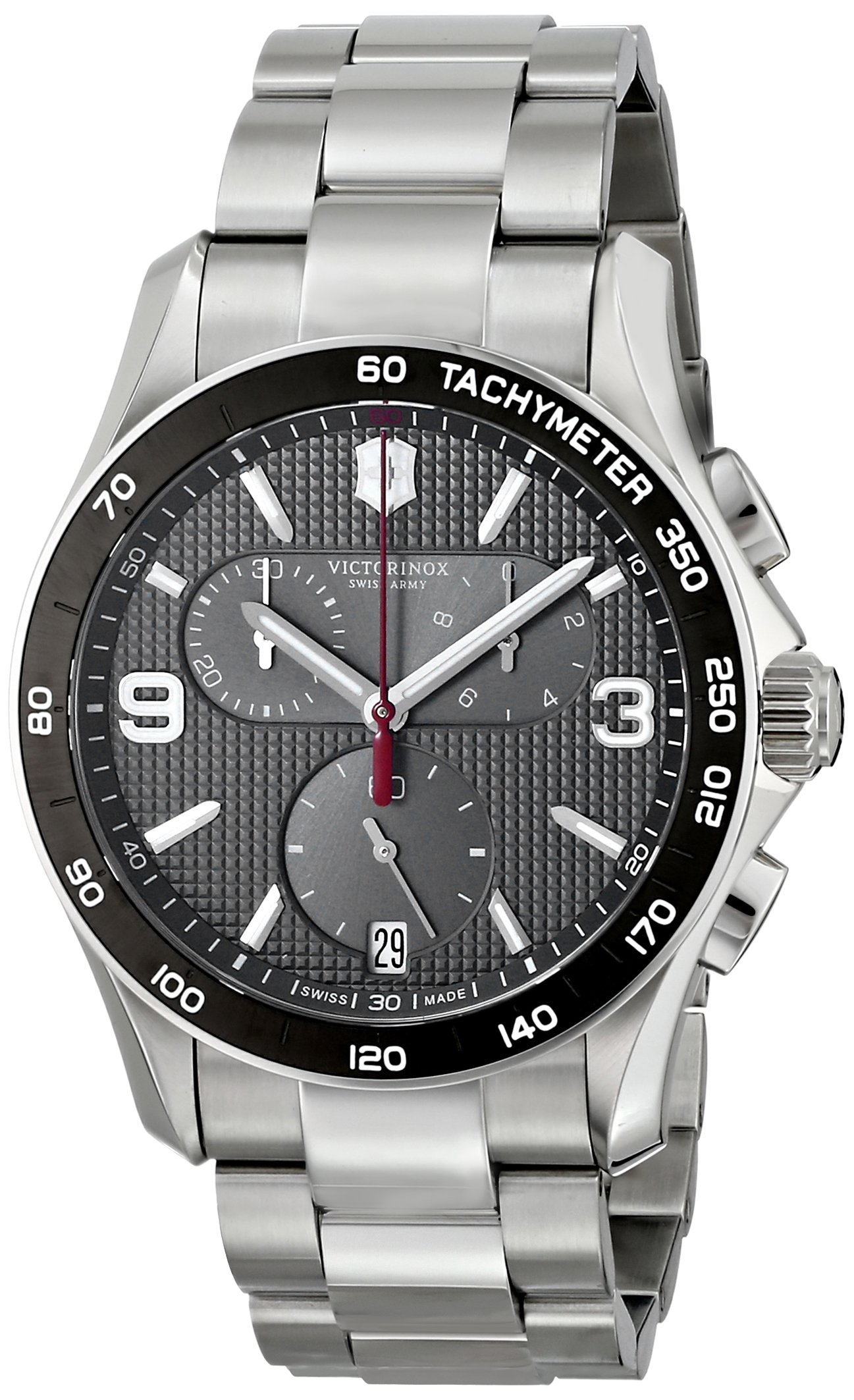 Victorinox Men's 241656 Chrono Classic Stainless Steel Chronograph Watch