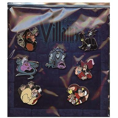 disney pin villains mini pin collection booster set pin 78566 - Disney Princess Art And Activity Collection