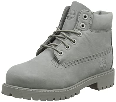Timberland Unisex-Kinder 6 in Classic Boot Klassische Stiefel, Grau (Grey  Monochromatic 65 36eee1f261
