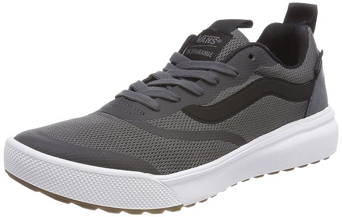 Vans Ultrarange Rapidweld Schuhe Erwachsene Asphalt Grau mit Schwarzem Streifen