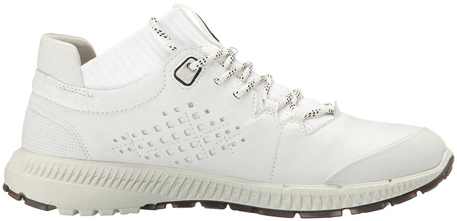 ECCO EU Women's Intrinsic TR Midcut Fashion Sneaker B01M7TSWDD 35 EU ECCO / 4-4.5 US|White/Bright White a93880
