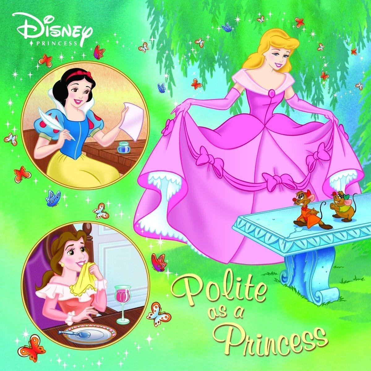 Read Online Polite as a Princess (Disney Princess) (Pictureback(R)) pdf