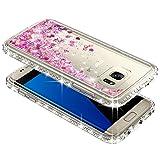 Galaxy S7 Edge Case w/ [Screen Protector HD