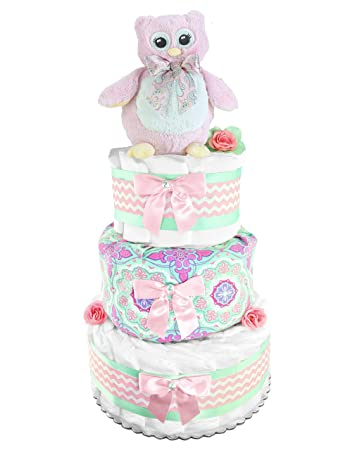 Amazon Owl Diaper Cake