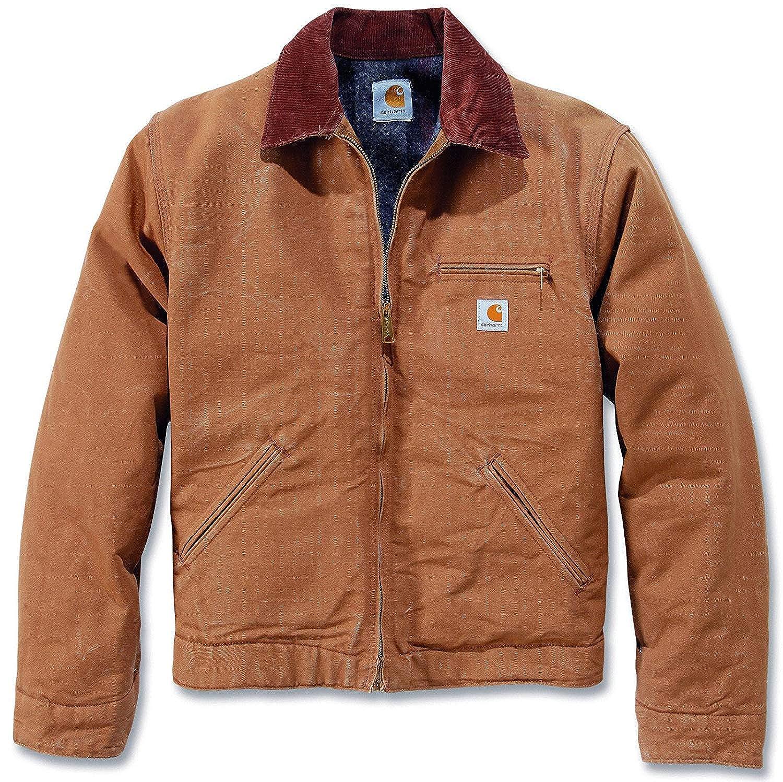 61a2c0349 Carhartt Men's Jacket Brown Brown