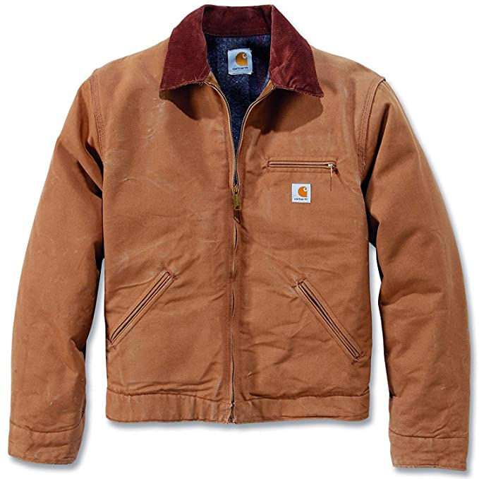 374b5dae91 Carhartt Men s Jacket Brown Brown  Amazon.co.uk  Clothing