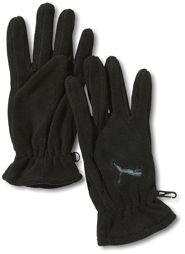 Puma Paire de gants en polaire Fundamentals Blanc Blanc/violet s ku0hxKJt