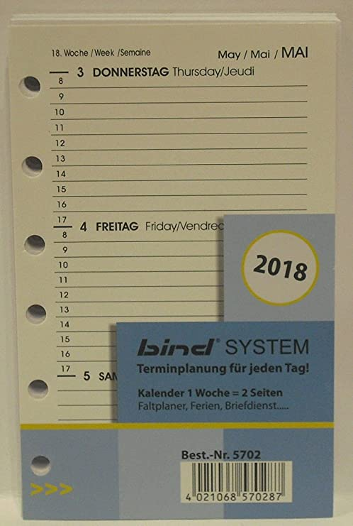 Amazon.com : Bind B570218 A7 Diary, 2018 : Office Products