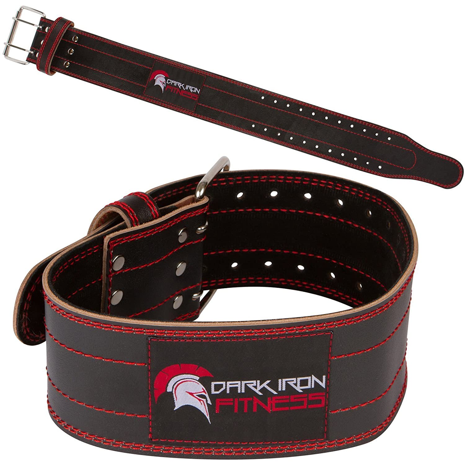 #2. Genuine Leather Pro Weightlifting Belt for Men and Women