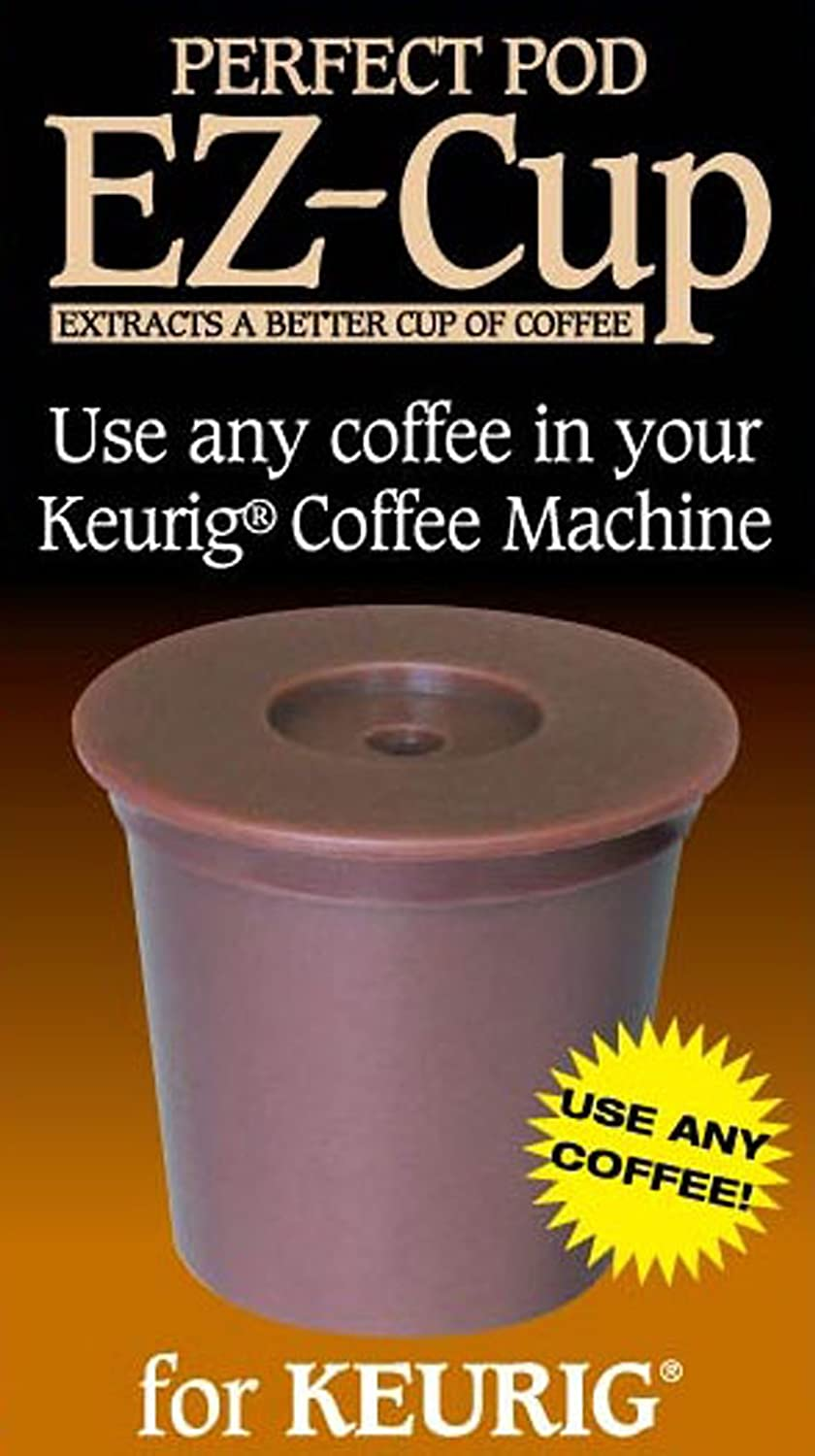 Perfect Pod K16127 EZ 1.0 Reusable K-Cup filter Brown