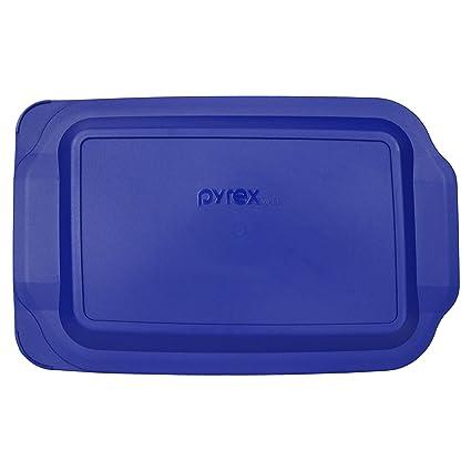 Amazoncom Pyrex 233 Pc 3 Quart Blue 9 X 13 Baking Dish Lid