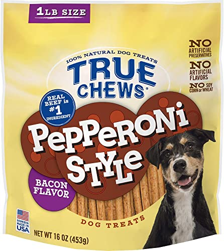 True Chews Pepperoni Style Beef Flavor 16oz