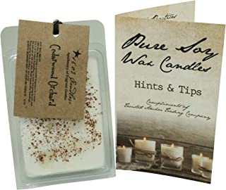 product image for 1803 Candles - Soy Fragrance Melters with Tips Brochure (Cedarwood Orchard)