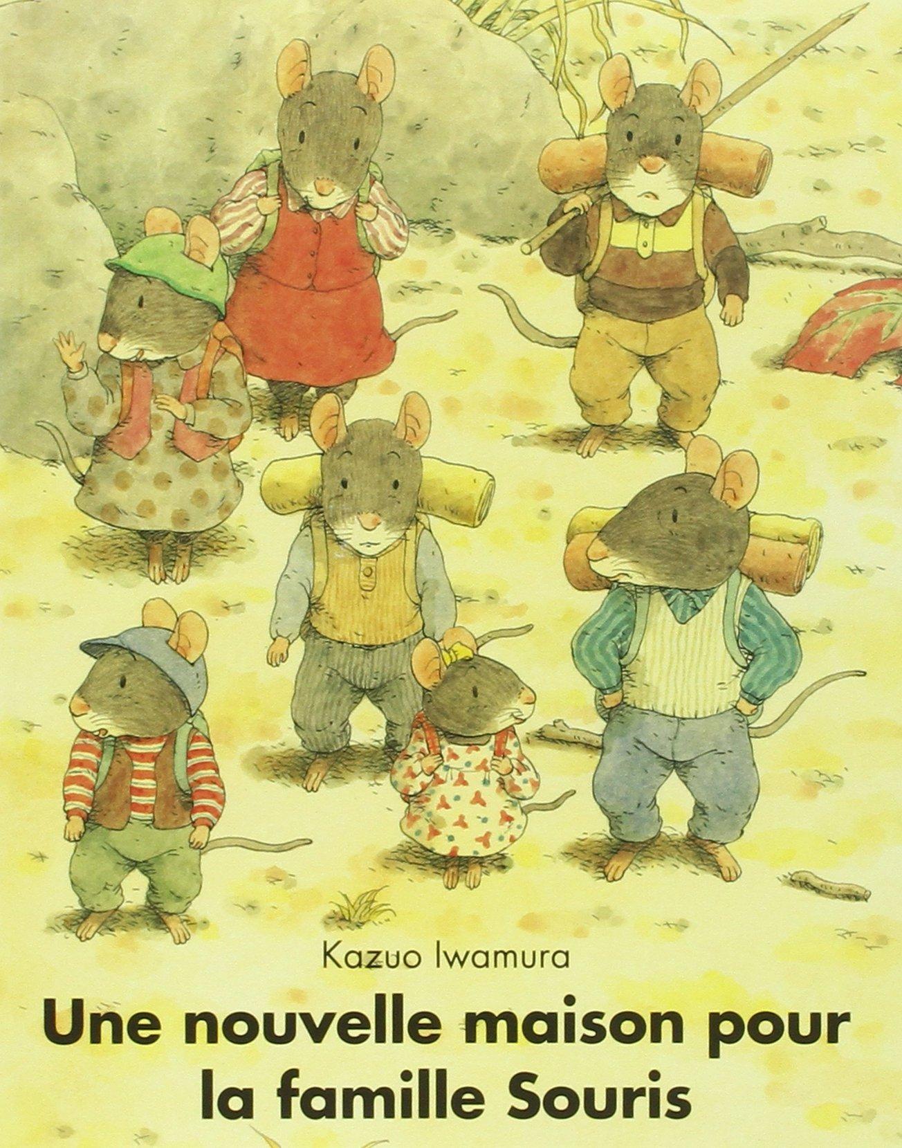 Souris la maison thire maison des souris de dos la for Adaptation chat nouvelle maison