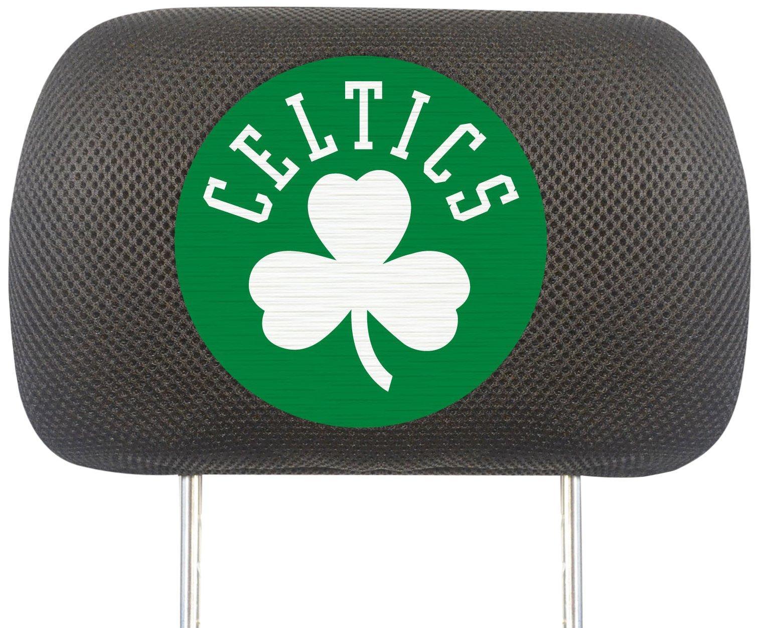Fanmats NBA Boston Celtics Polyester Head Rest Cover