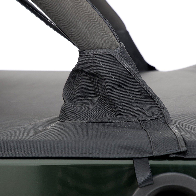 Smittybilt 761335 Black Diamond Tonneau Cover for Jeep JK 4-Door