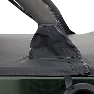 Smittybilt 761435 Black Diamond Tonneau Cover Extension 4 Door Automotive Amazon Com