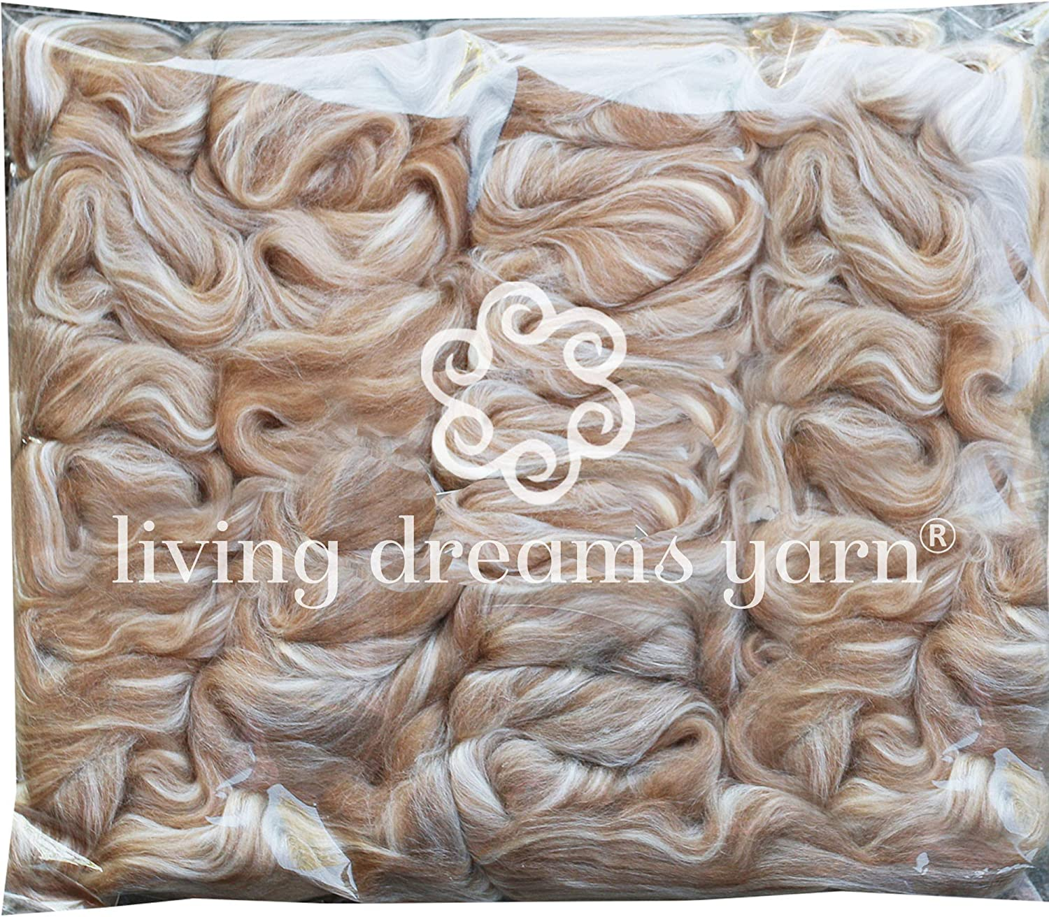 Baby Camel Silk Cobweb Lace Yarn Hand dyed Soie et Bebe Chameau Loden