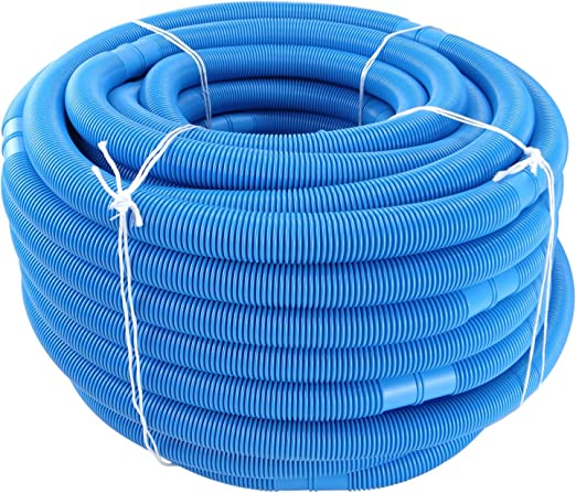 Manguera para limpiafondos de Piscina 32 mm, 6 m, Color Azul: Amazon.es: Jardín