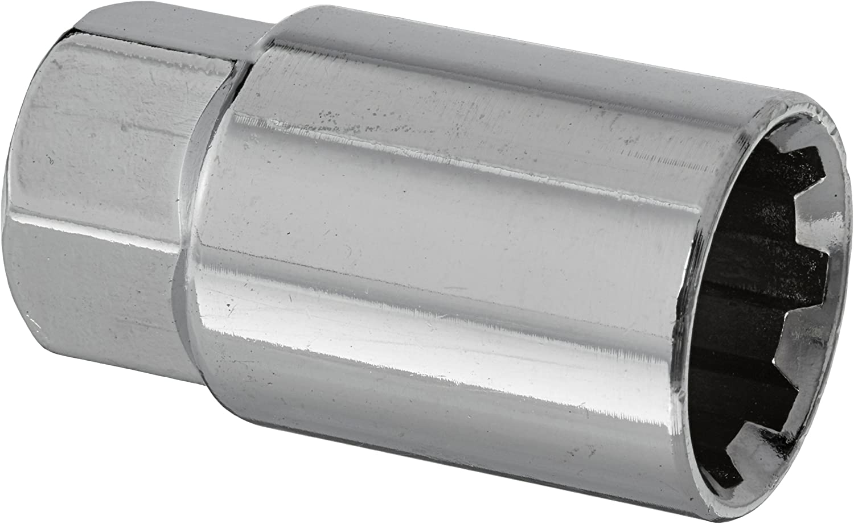 L41 Lug Nut Lock Key Socket Black Chrome 17mm Spare For use with LN L40 L01,