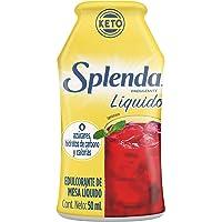 SPLENDA LIQUIDO Endulzante Líquido Cero Calorias, Botella de 50mL (1 pieza)