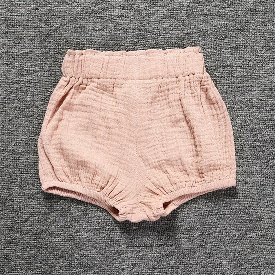 AYIYO Baby Infant Bloomer Shorts Loose Cute Harem Pants for Boys Girls