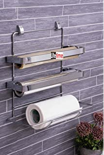 Lifetime 3 In 1 Kitchen Triple Paper Dispenser U0026 Holder/ Wrap Aluminium Foil  U0026 Kitchen