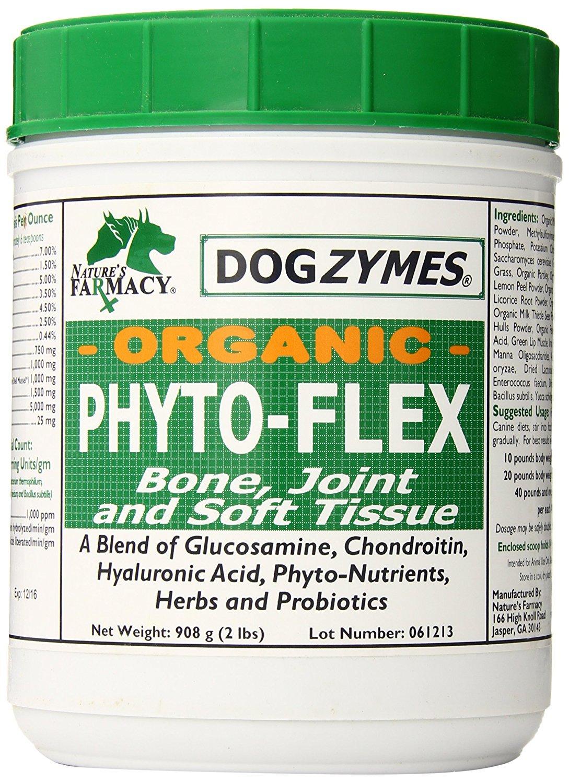 DOGZYMES Phyto-Flex Bone/Joint/Soft Tissue Support, 2-Pound