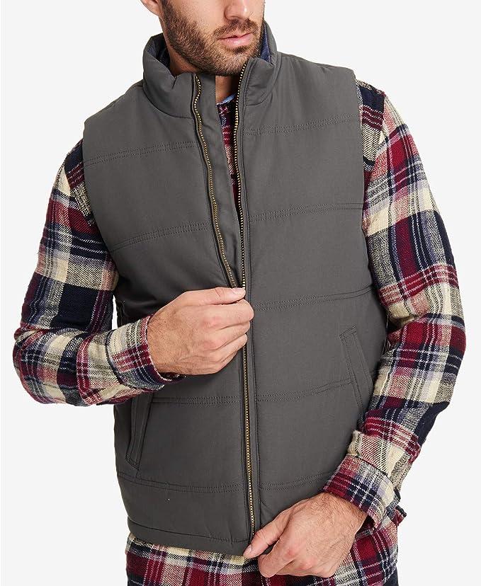 Weatherproof Mens Vintage Solid Puffer Vest
