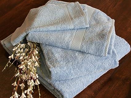 Homescapes – flauschiges Premium Toalla de aprox. 50 x 90 cm, 100% algodón