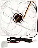 ROCKSOUL Cool killer GAMING PC /PC CASE fan 120mm with Red Led and 9 Blades