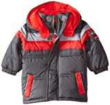iXtreme Baby Boys' Color Block Puffer with