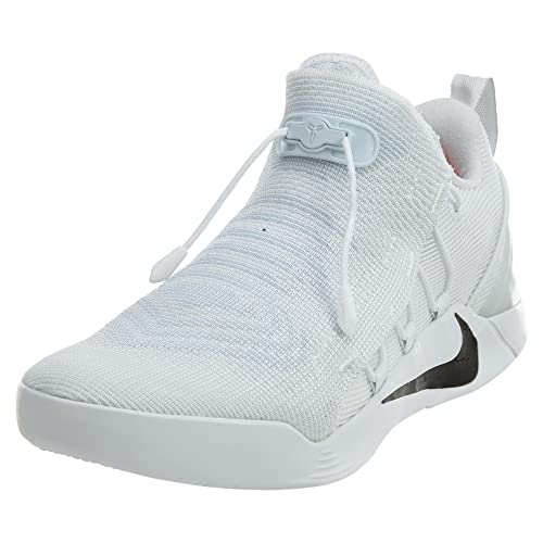 official photos 1d4da cfde4 Nike Mens Kobe A.D. NXT Basketball Shoes White Black 882049-100 Size 14